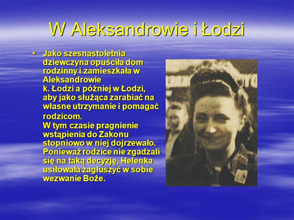 W Aleksandrowie i Łodzi