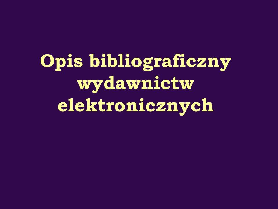 wydawnictw elektronicznych