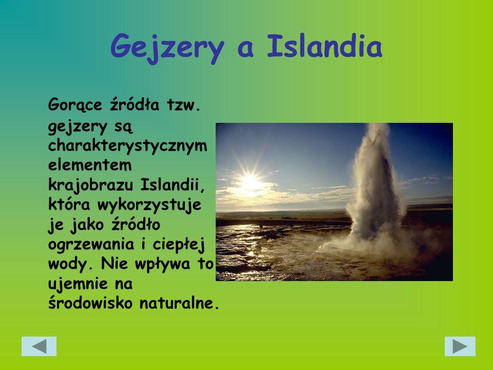 Gejzery a Islandia