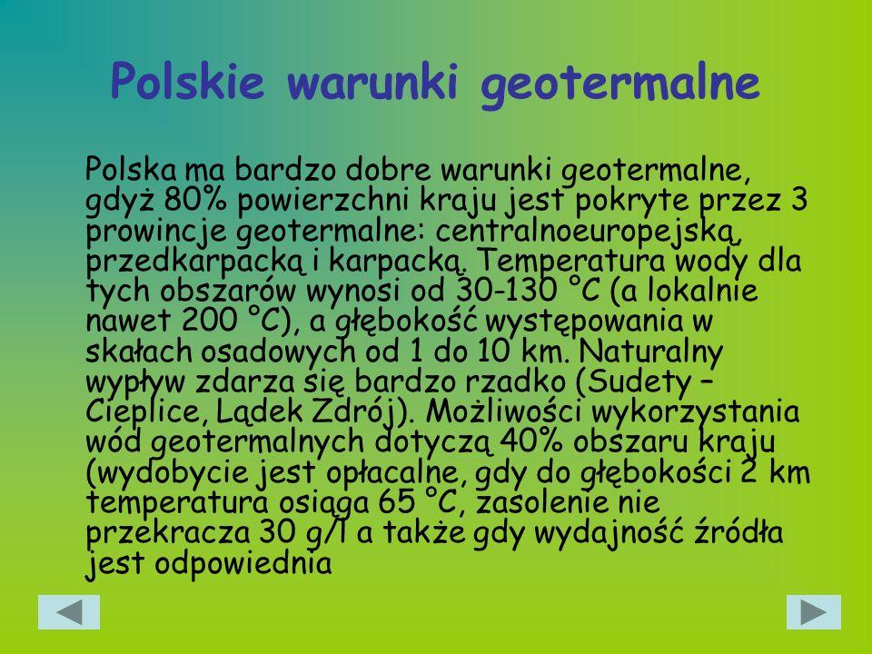 Polskie warunki geotermalne