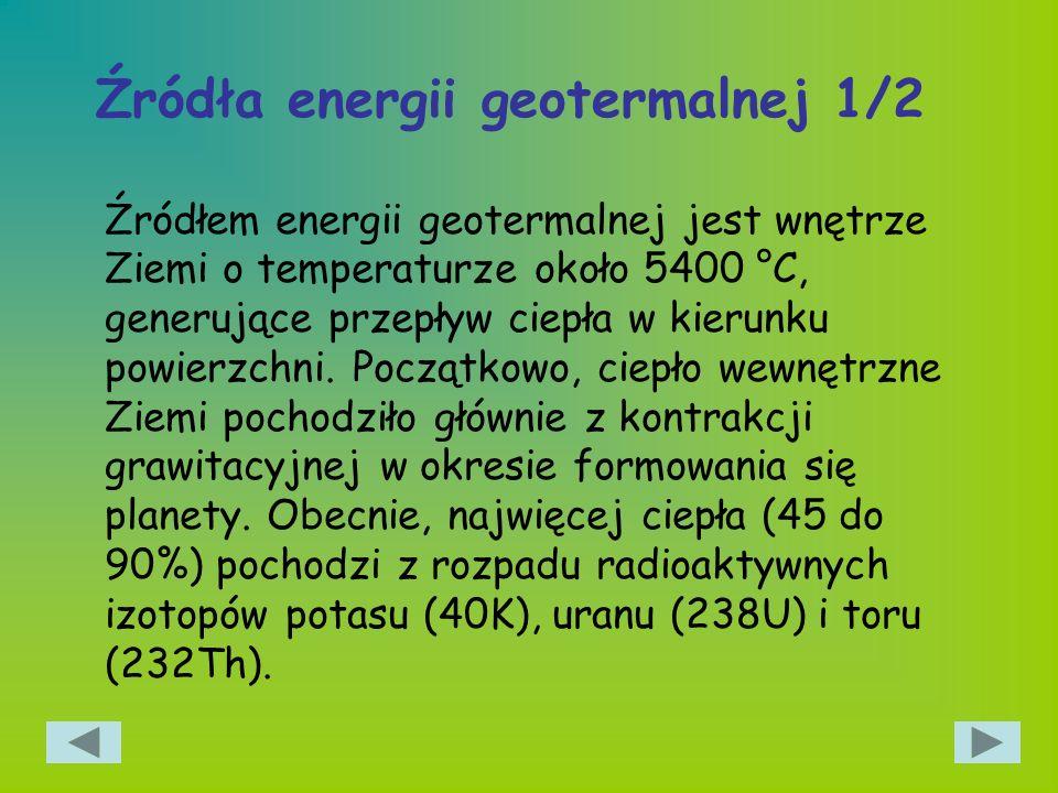 Źródła energii geotermalnej 1/2