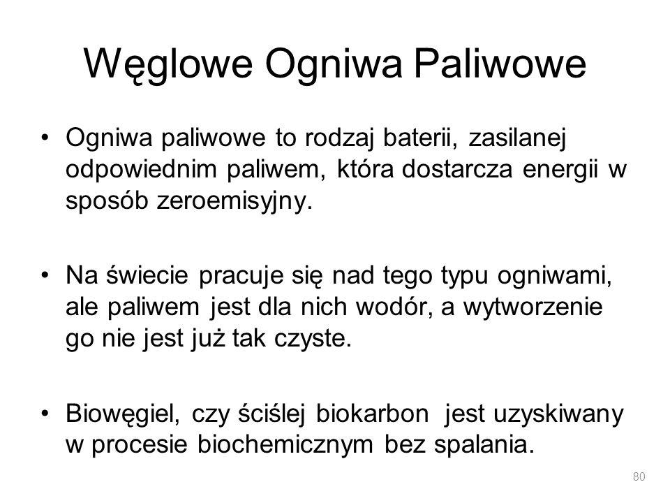 Węglowe Ogniwa Paliwowe