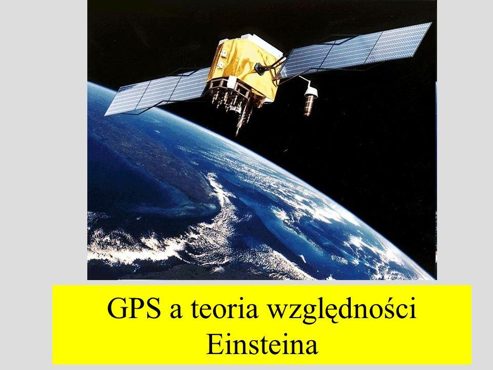 GPS a teoria względności Einsteina