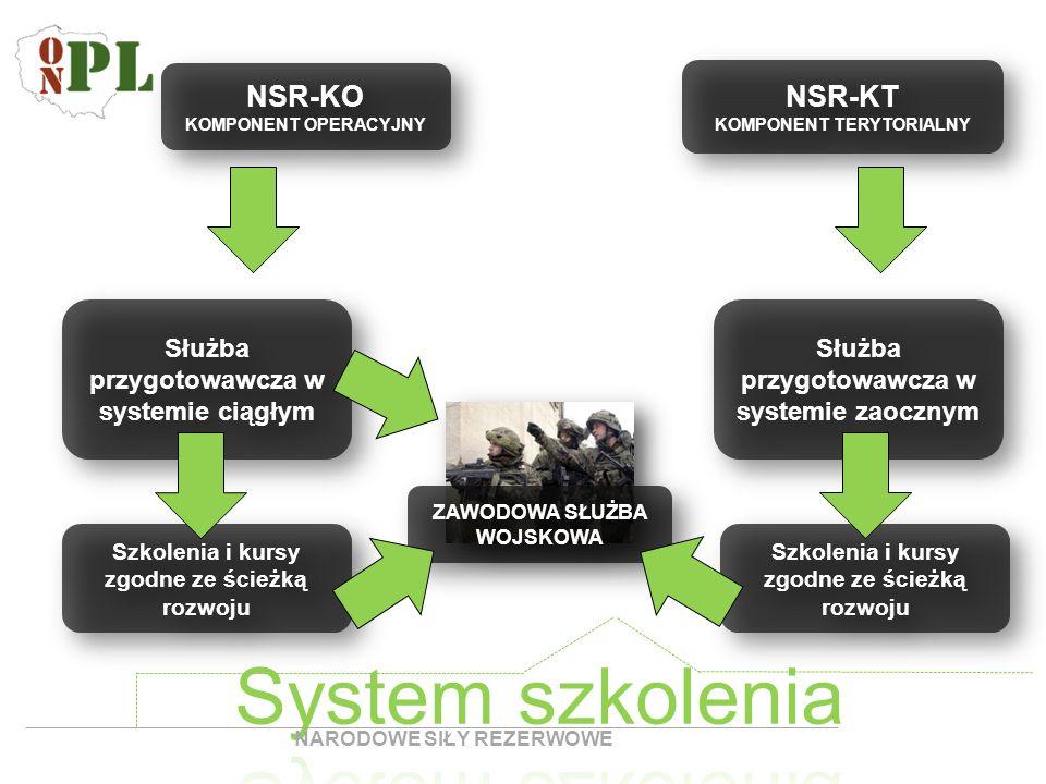System szkolenia NSR-KO NSR-KT