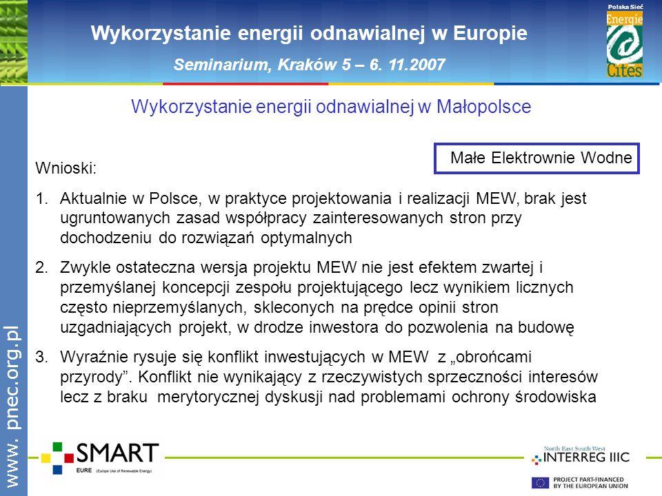 Wykorzystanie energii odnawialnej w Europie