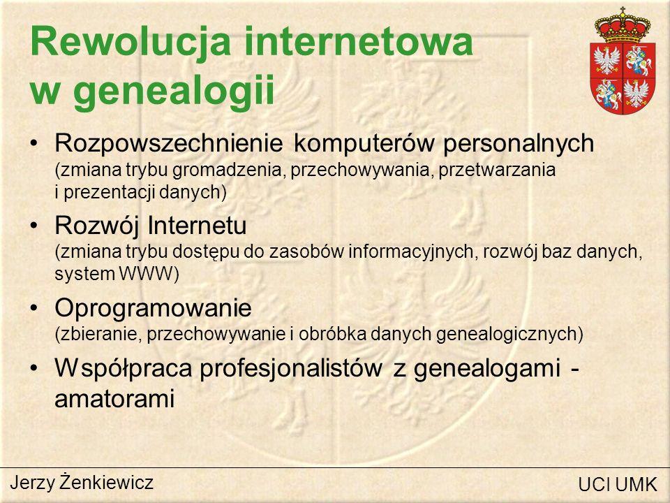 Rewolucja internetowa w genealogii