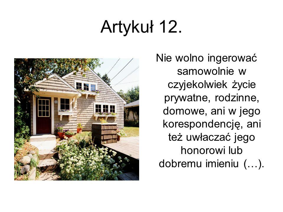 Artykuł 12.