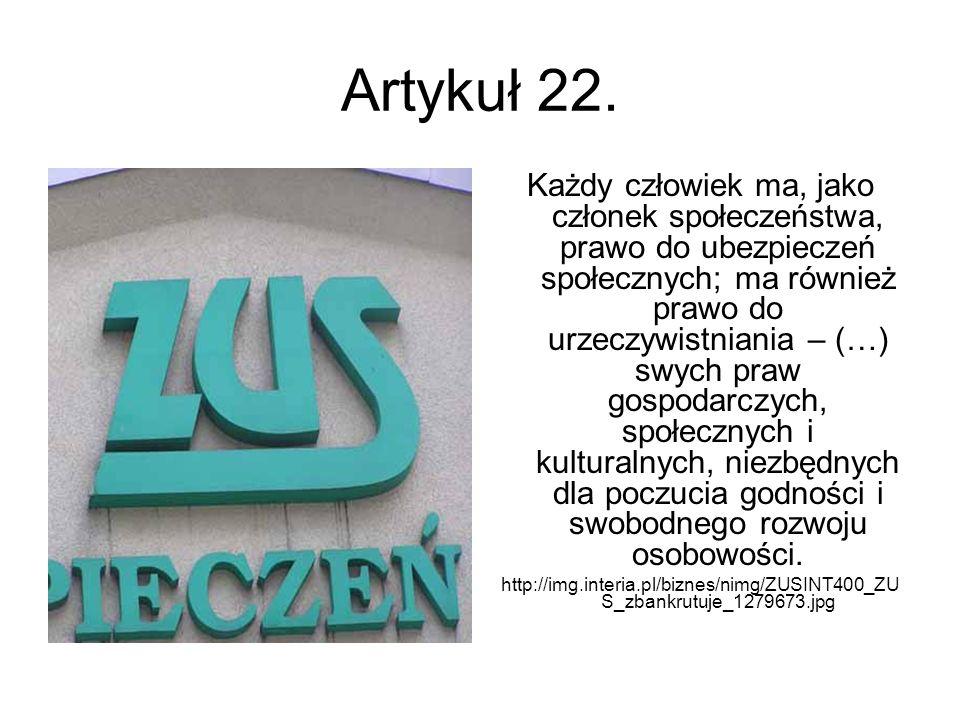 Artykuł 22.
