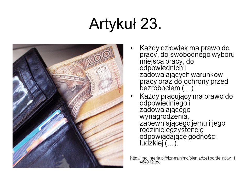 Artykuł 23.