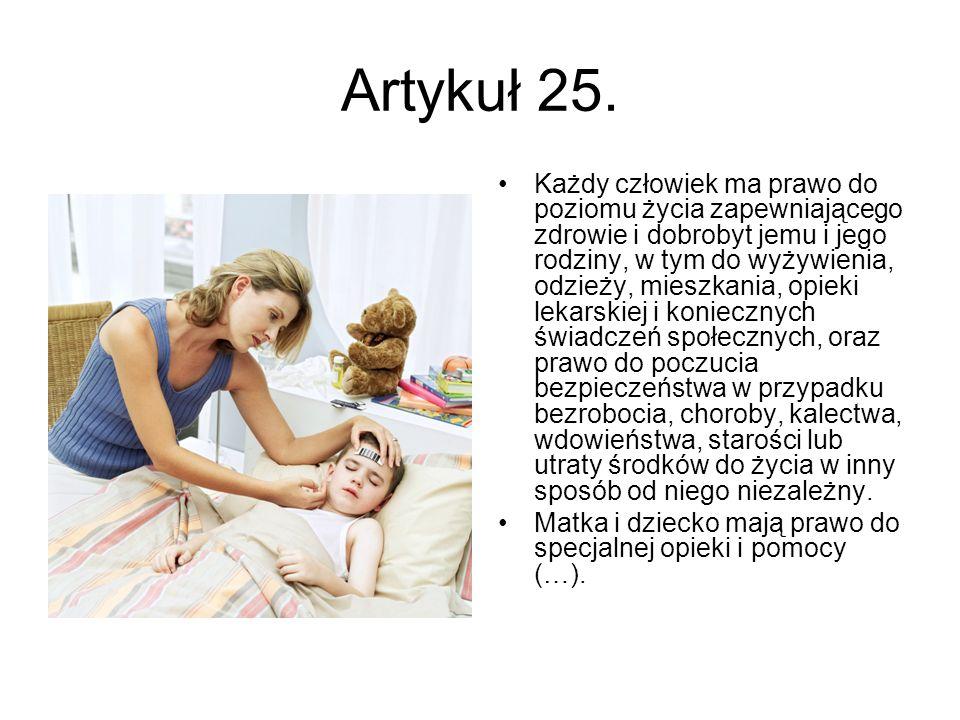 Artykuł 25.