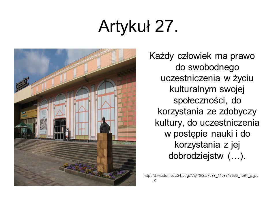 Artykuł 27.