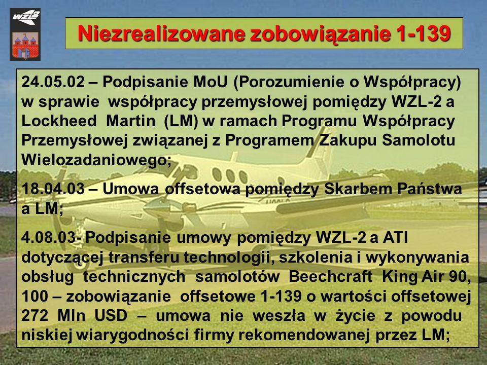Niezrealizowane zobowiązanie 1-139