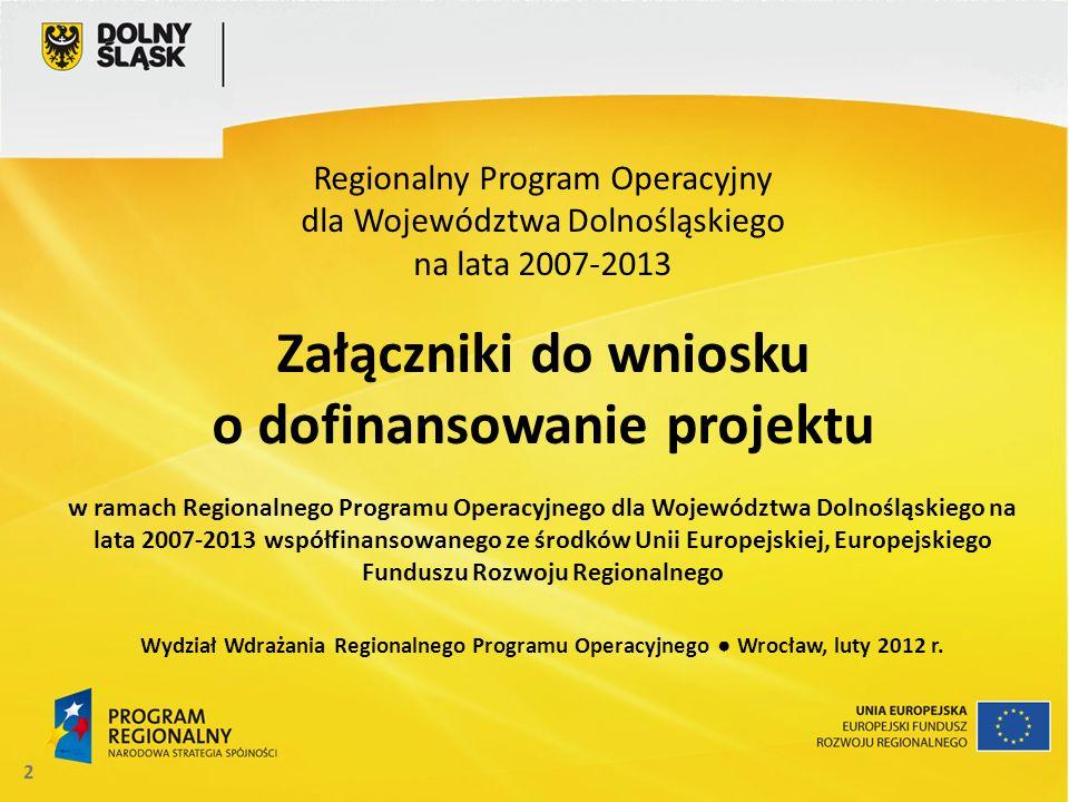 o dofinansowanie projektu