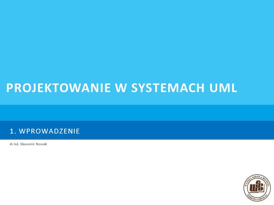 Projektowanie w systemach UML