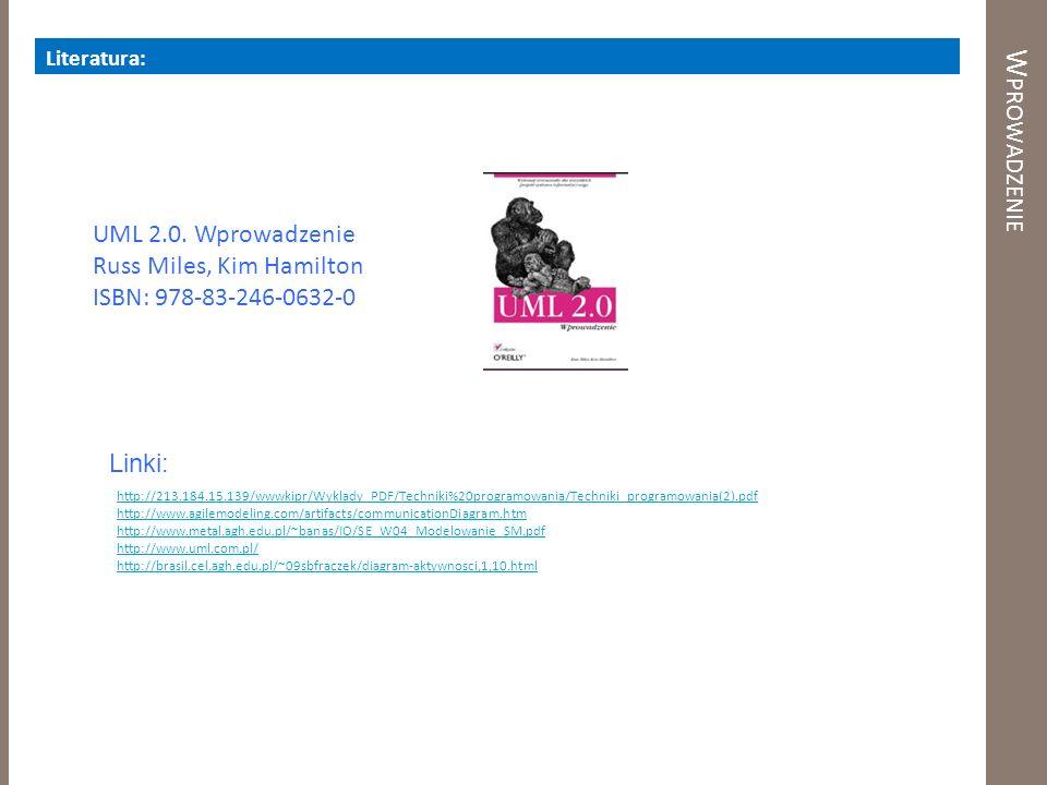 Wprowadzenie UML 2.0. Wprowadzenie Russ Miles, Kim Hamilton