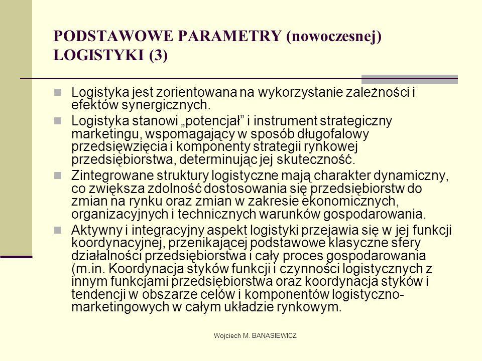 PODSTAWOWE PARAMETRY (nowoczesnej) LOGISTYKI (3)