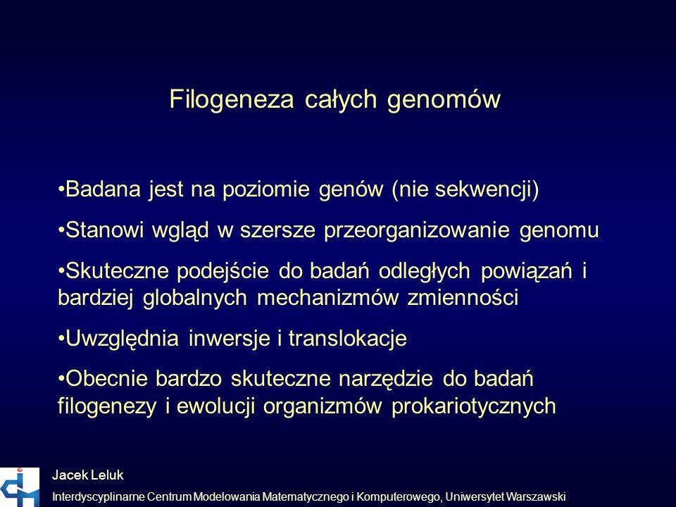 Filogeneza całych genomów