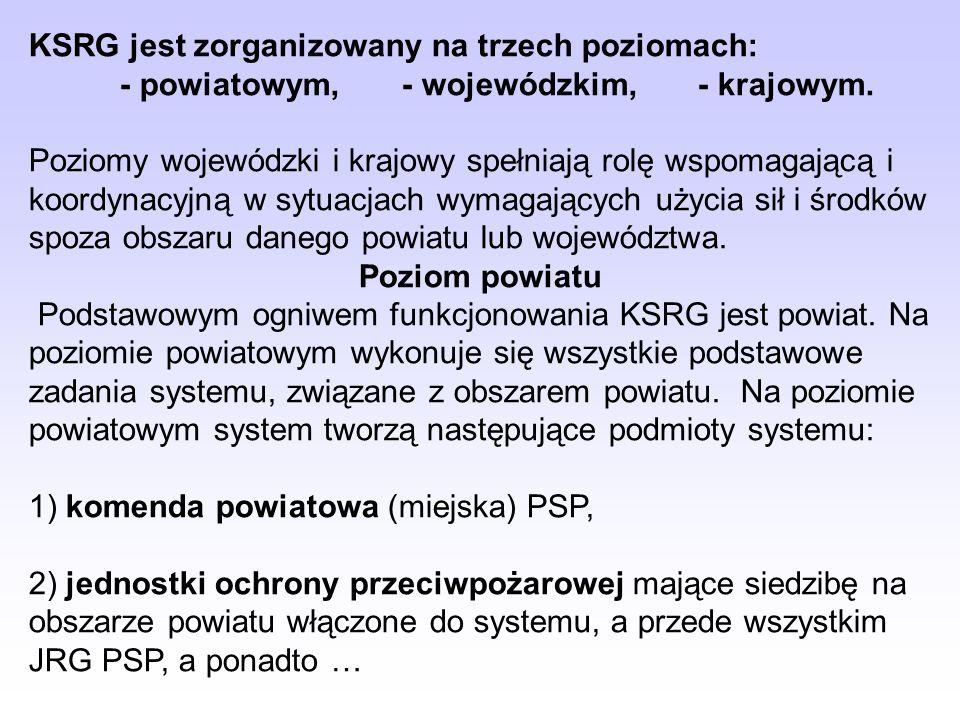 - powiatowym, - wojewódzkim, - krajowym.