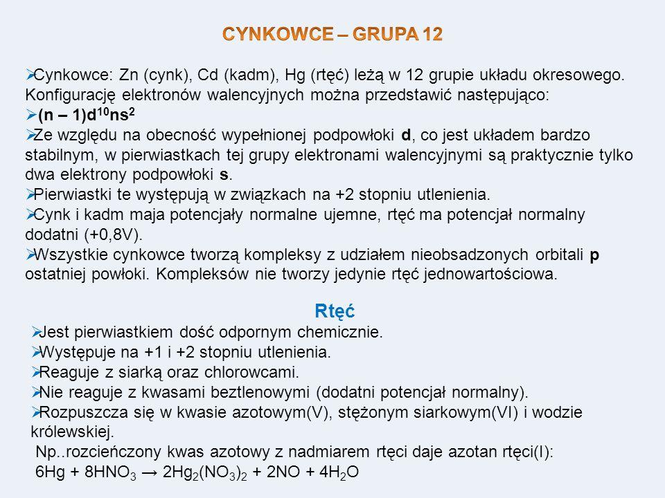 CYNKOWCE – GRUPA 12