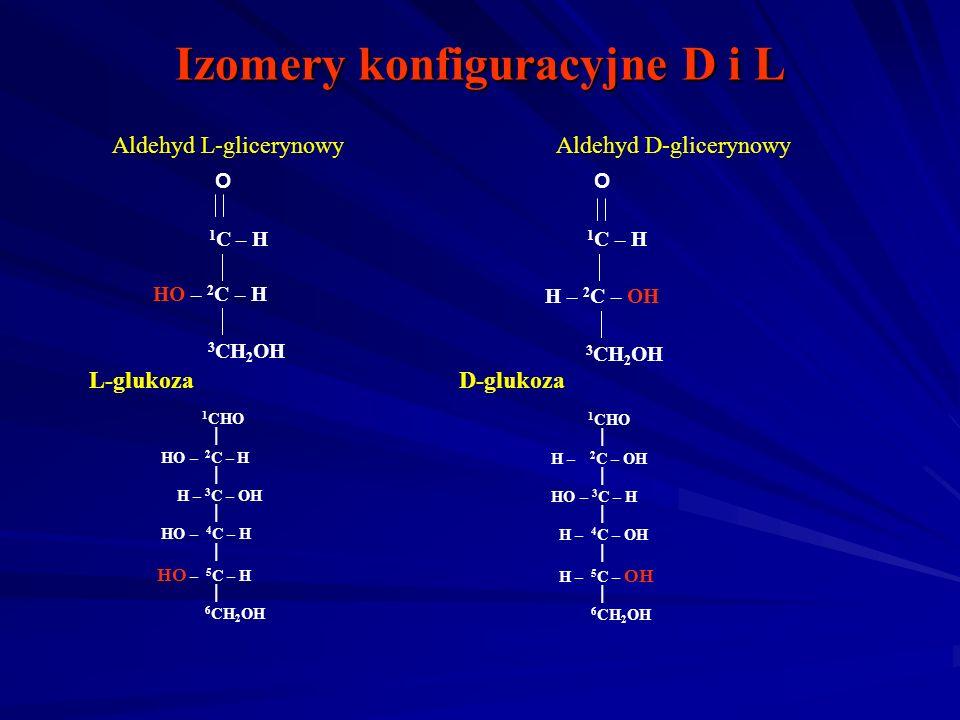 Izomery konfiguracyjne D i L