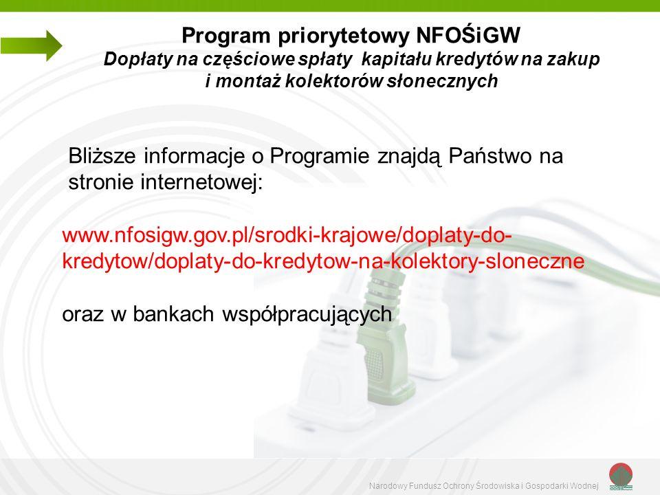 Bliższe informacje o Programie znajdą Państwo na stronie internetowej: