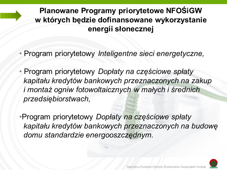 Program priorytetowy Inteligentne sieci energetyczne,