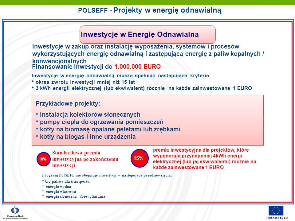 POLSEFF - Projekty w energię odnawialną