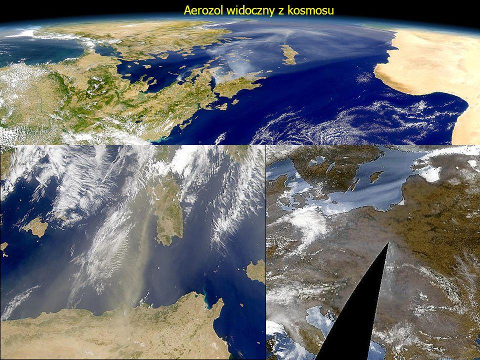 Aerozol widoczny z kosmosu