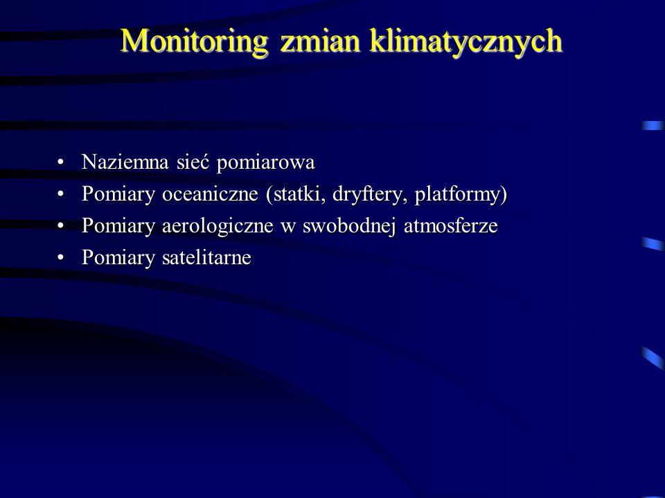 Monitoring zmian klimatycznych
