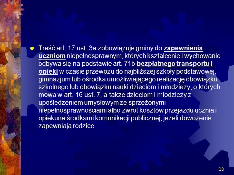 Treść art. 17 ust.