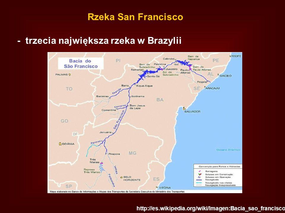 - trzecia największa rzeka w Brazylii