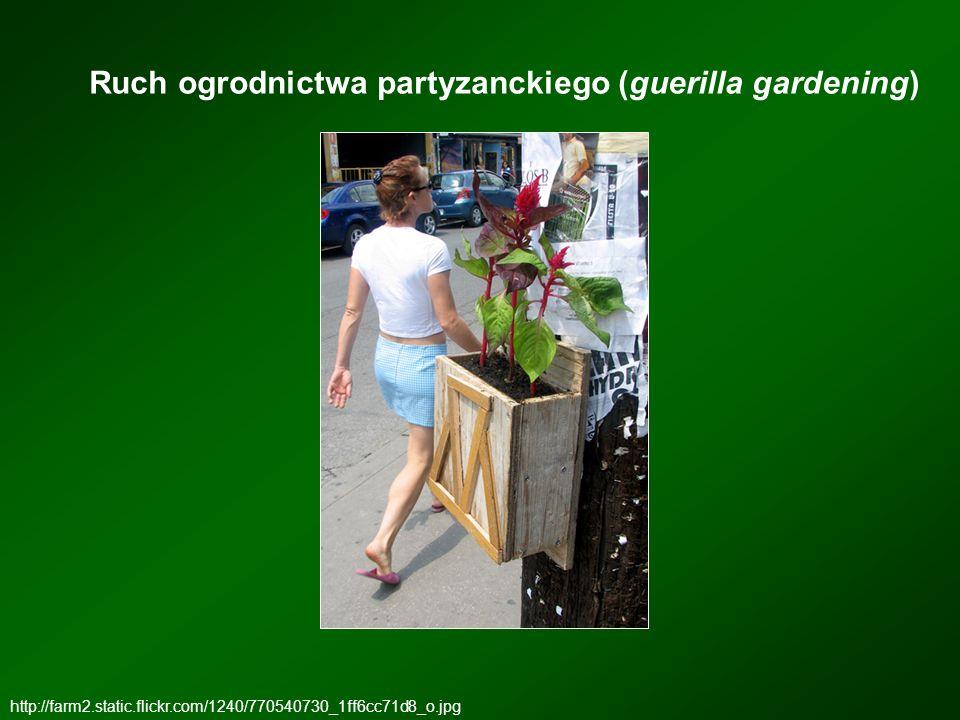 Ruch ogrodnictwa partyzanckiego (guerilla gardening)
