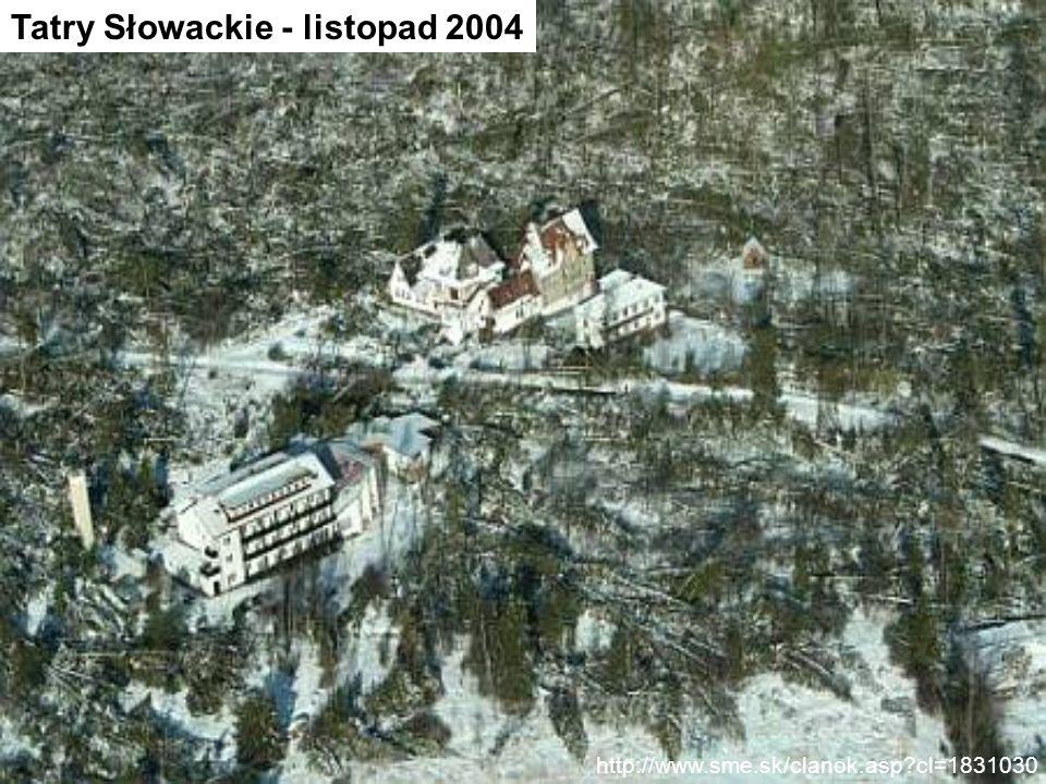 Tatry Słowackie - listopad 2004