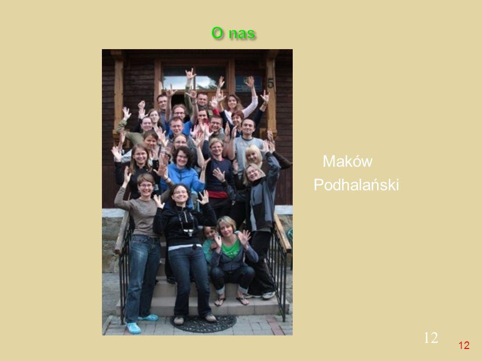 O nas Maków Podhalański 12