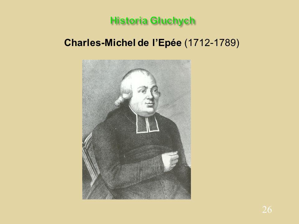 Charles-Michel de l'Epée (1712-1789)