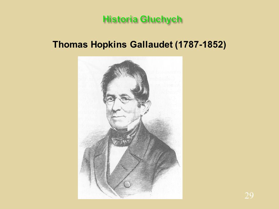 Thomas Hopkins Gallaudet (1787-1852)