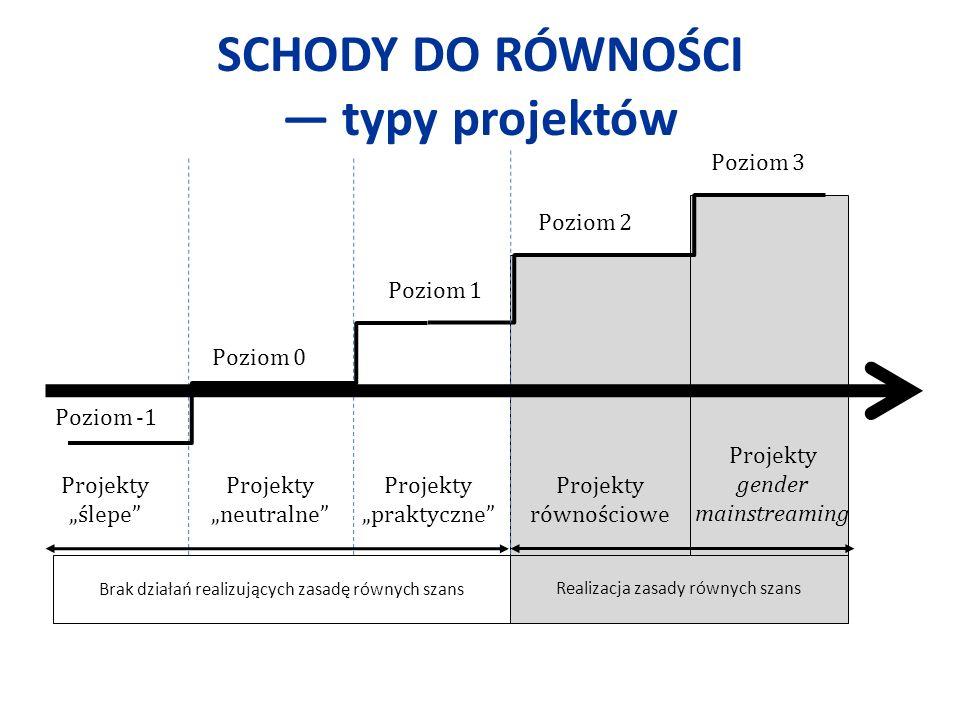 SCHODY DO RÓWNOŚCI — typy projektów