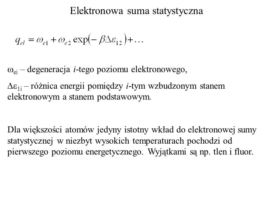 Elektronowa suma statystyczna