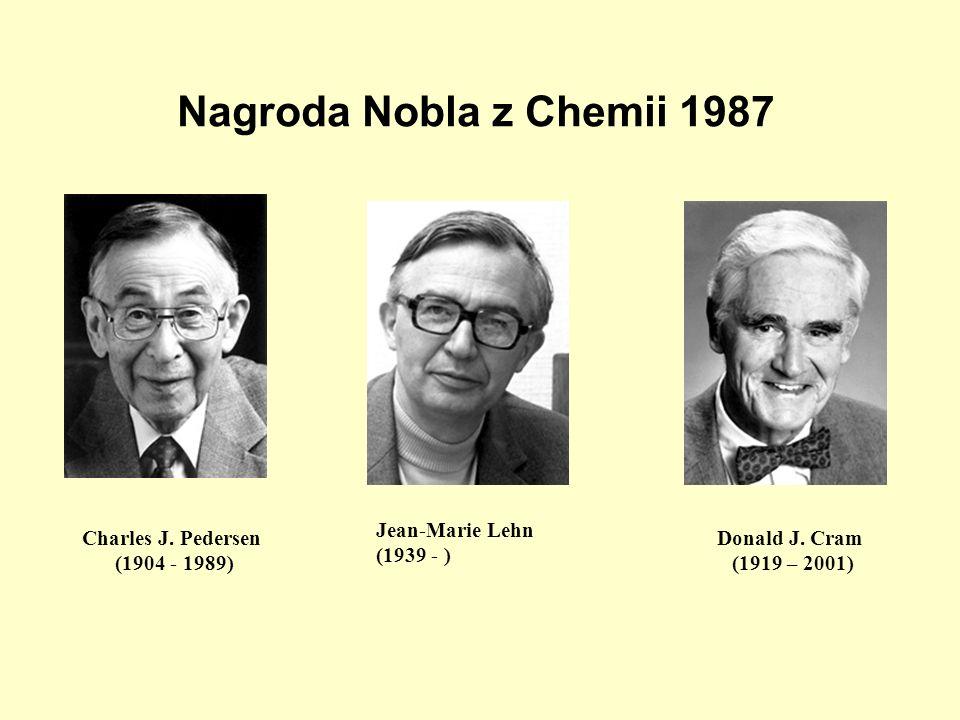 Nagroda Nobla z Chemii 1987 Charles J. Pedersen (1904 - 1989)