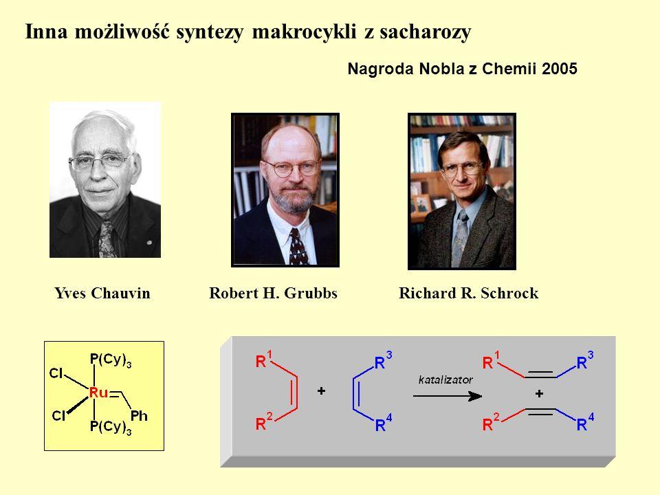 Inna możliwość syntezy makrocykli z sacharozy