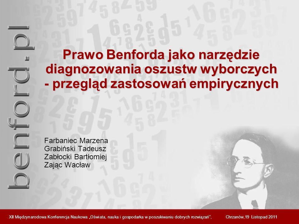 Farbaniec Marzena Grabiński Tadeusz Zabłocki Bartłomiej Zając Wacław