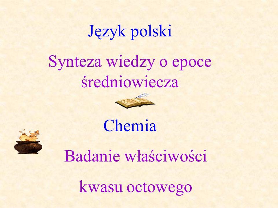 Synteza wiedzy o epoce średniowiecza