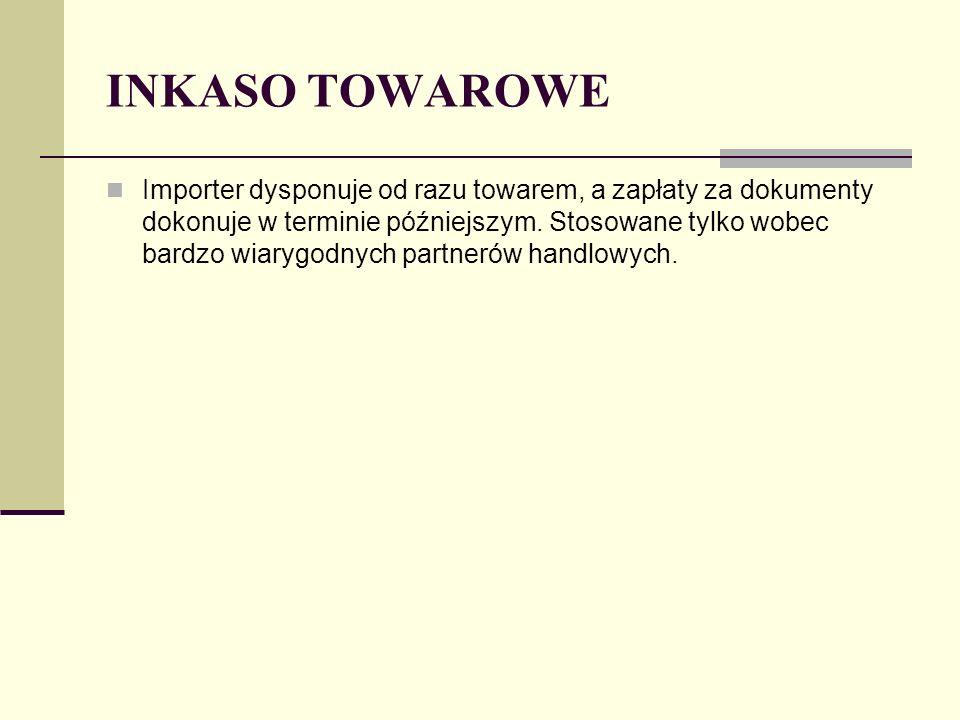 INKASO TOWAROWE