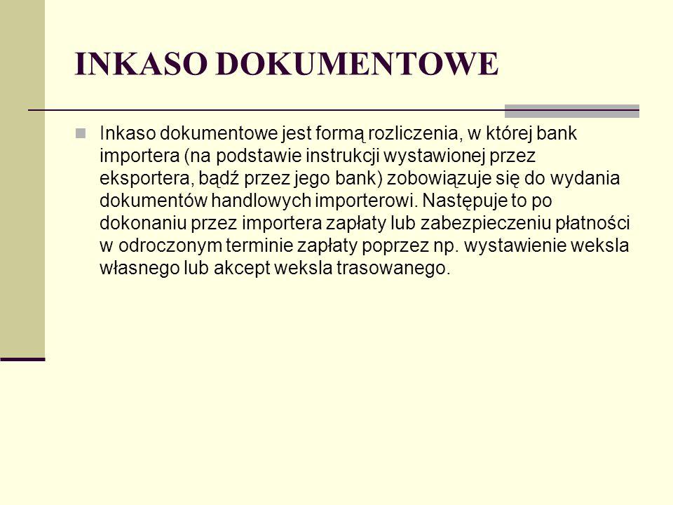 INKASO DOKUMENTOWE