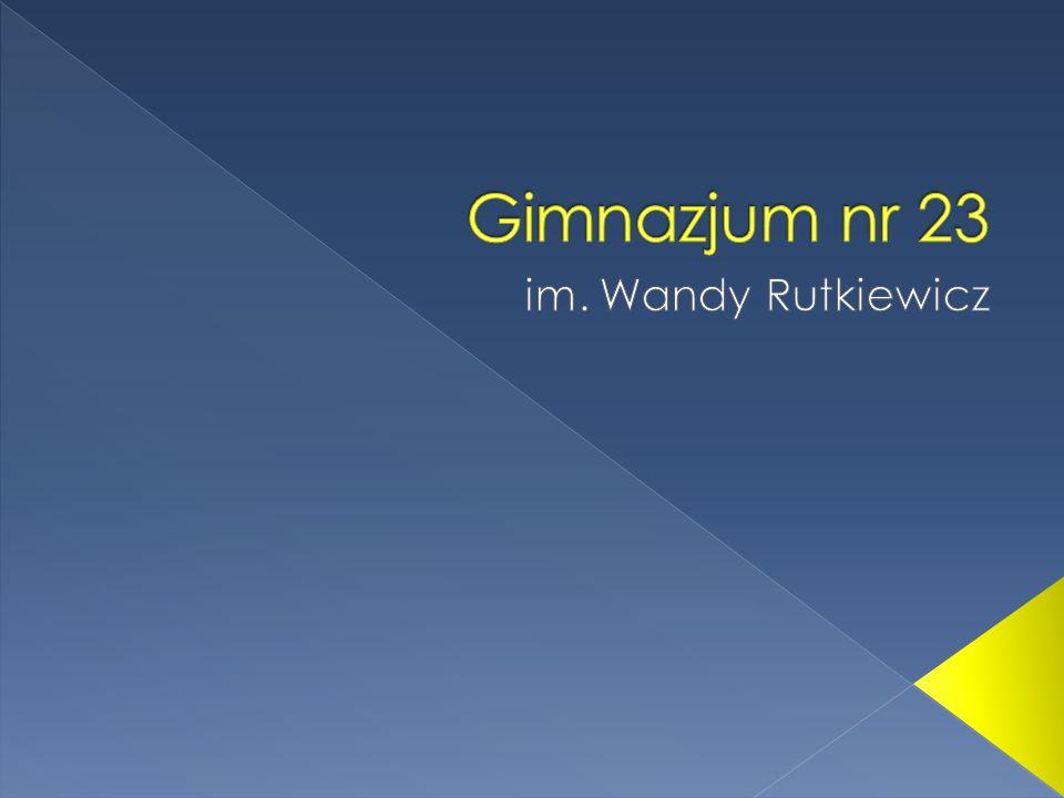 Gimnazjum nr 23 im. Wandy Rutkiewicz