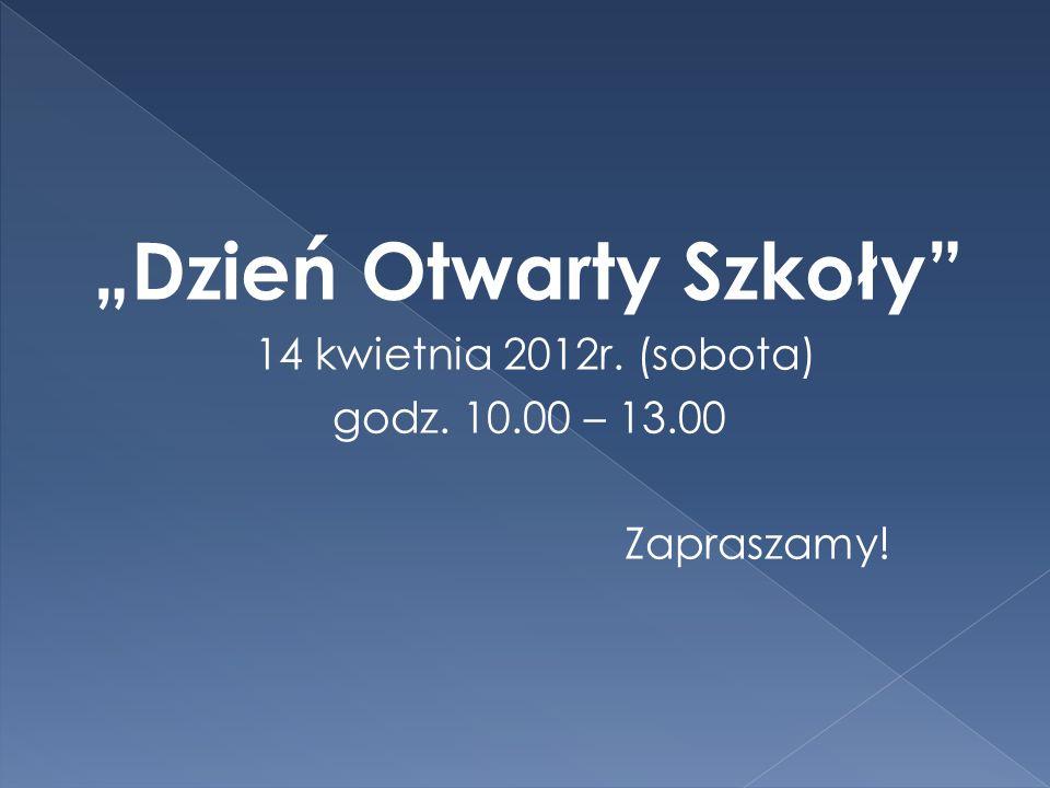 """""""Dzień Otwarty Szkoły"""