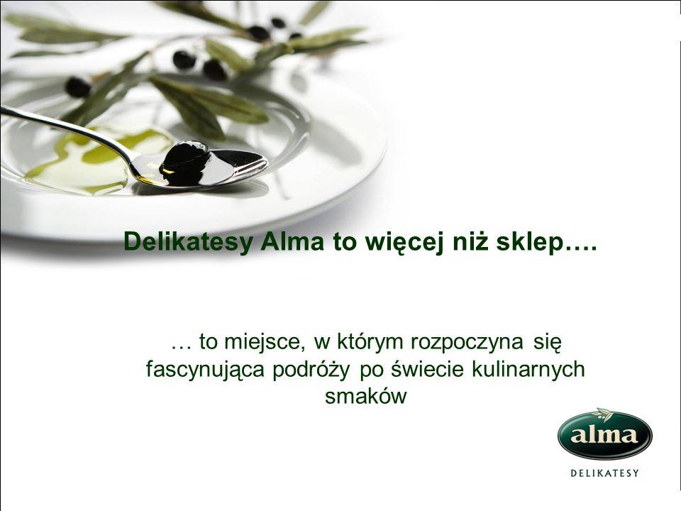 Delikatesy Alma to więcej niż sklep….