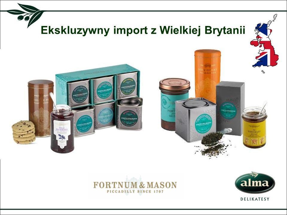 Ekskluzywny import z Wielkiej Brytanii