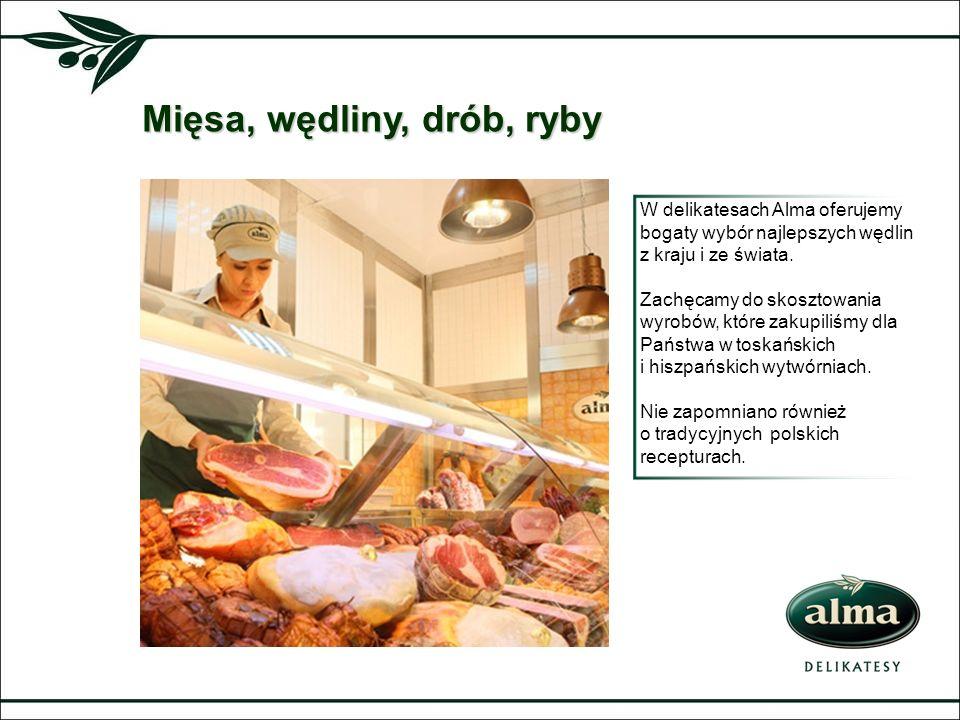 Mięsa, wędliny, drób, ryby