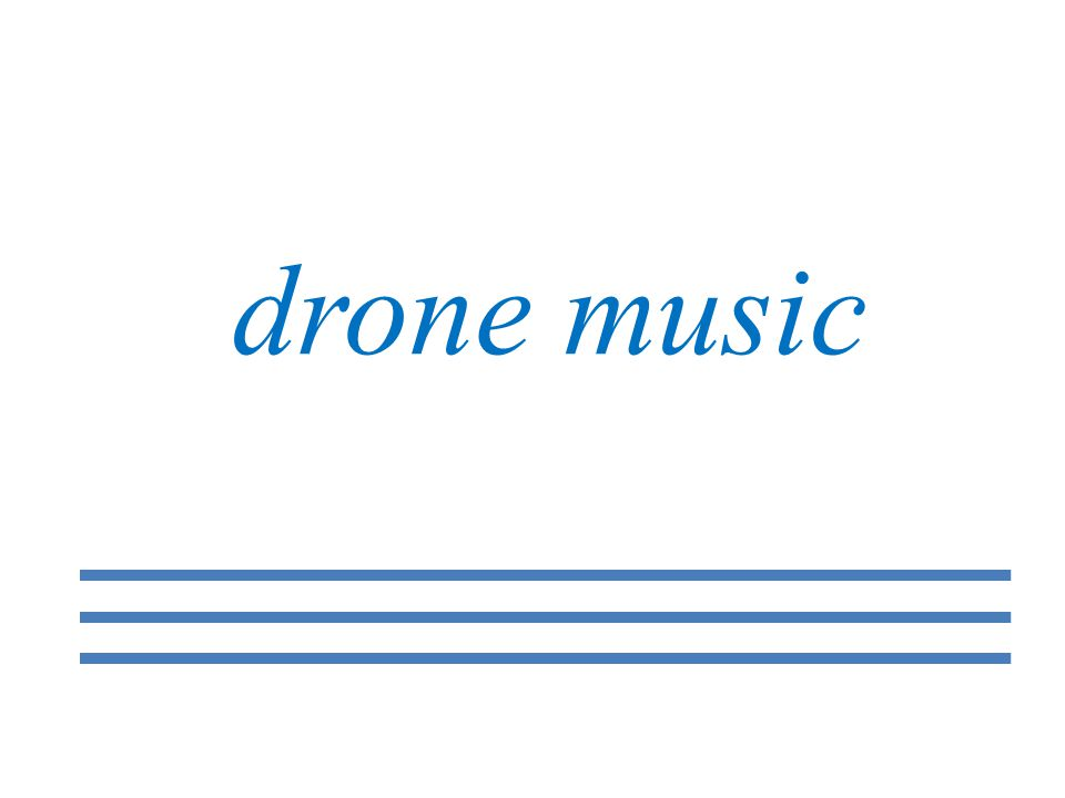 drone music